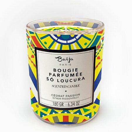 巴黎百嘉 香櫞百香果 香氛蠟燭 180g 大豆蠟 純植物蠟 可按摩 法國製造 Baija Paris 香鼻子選品 Les nez