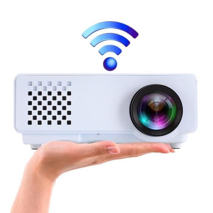 投影儀家用高清1080p無線wifi智慧led辦公微型手機投影機