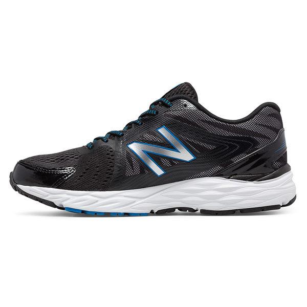 New Balance 680 男鞋 慢跑 网布 透气 舒适 黑 银 【运动世界】 M680LB4