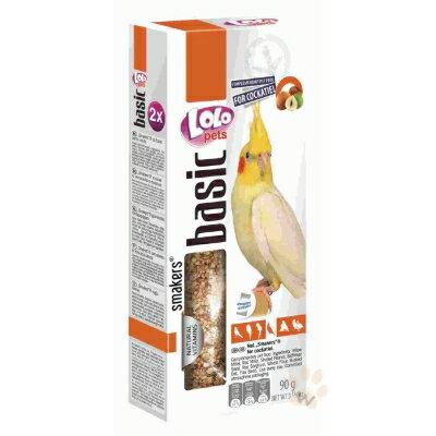 【恰恰】LOLO中型長尾鸚鵡棒棒糖-堅果90G #44-LO-72207