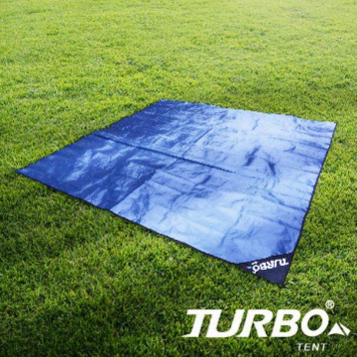 【H.Y SPORT】RV運動家族 TURBO TENT 高品質PE墊/ 帳篷地墊(3 m x 3 m)