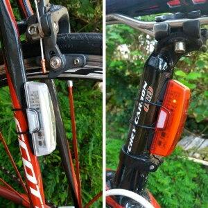 美麗大街【BK105062007】RAYPAL-2263自行車高效節能USB充電尾燈/後燈