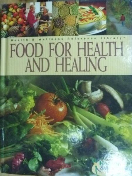 【書寶二手書T4/餐飲_XDM】Food Fpr Health amd Healing