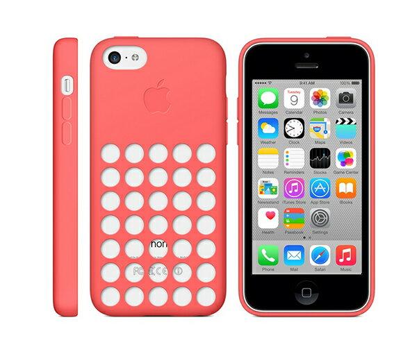 Apple iPhone 5C Case 原廠洞洞殼 矽膠保護殼【葳豐數位商城】