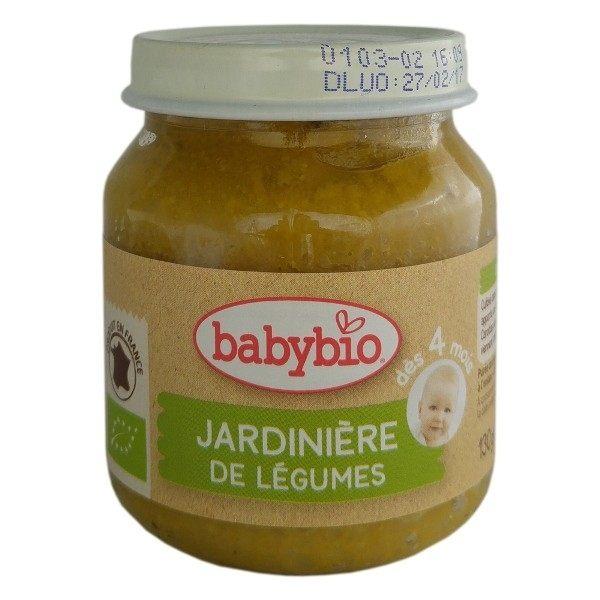 『121婦嬰用品館』法國BABYBIO 有機綜合鮮蔬泥 田園鮮蔬 (130g/4M+)