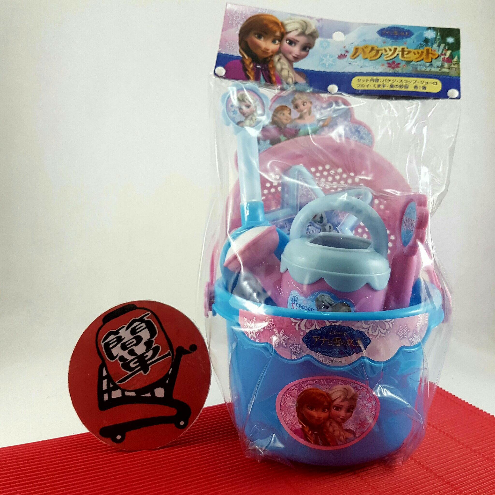 『簡?全球購』迪士尼 DISNEY 冰雪奇緣 Frozen 挖沙 玩沙玩具組
