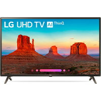 LG 49-Inch 4K TV - Smart - LED - HDR 49UK6300PUE