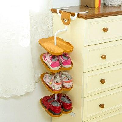 寶寶鞋靴架卡通動物立體兒童鞋靴架 落地式鞋靴子收納架 可愛鞋靴架WY