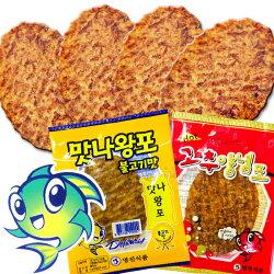韓國烤魚片(單入) 蜜汁 辣味 下酒菜零嘴[KR8805766]千御國際╭宅配499免運╮