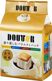 【橘町五丁目】日本Doutor羅倫多濾式咖啡-四種綜合8袋入(-56g)