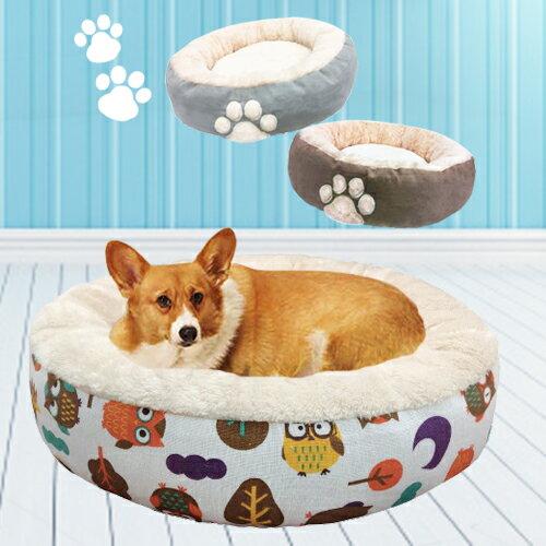 【雙12 SUPER SALE整點特賣12 / 2 15:00】《寵物睡床》狗腳印溫暖寵物床窩(2色) / 貓窩貓床 / 狗窩狗床 / 寵物床墊 0