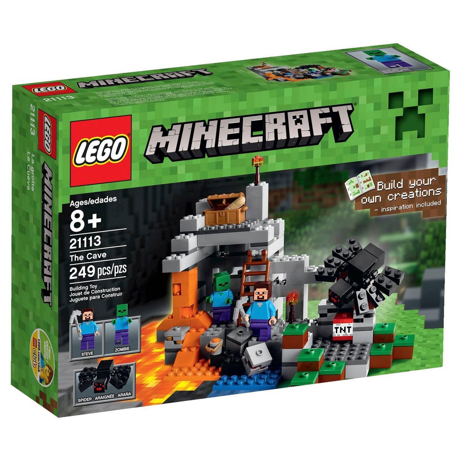 【瞎買天堂x現貨免運】樂高 LEGO 創世神 Minecraft The Cave 21113【TYLEMC03】