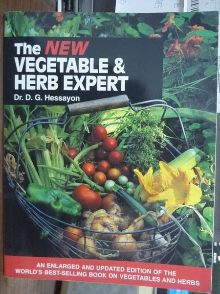 【書寶二手書T1/原文書_PEW】The Vegetable & Herb Expert