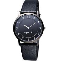 agnès b.包包推薦到AGNES.B/浪漫法國時尚圈藝術女腕錶/黑/BG4002P1/7N00-0BC0D就在方采鐘錶推薦agnès b.包包