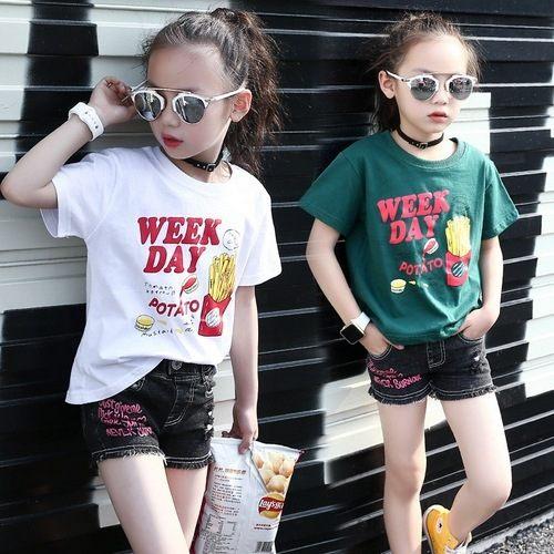 中大童上衣嬰幼兒短袖T恤寶寶童裝MC1572好娃娃