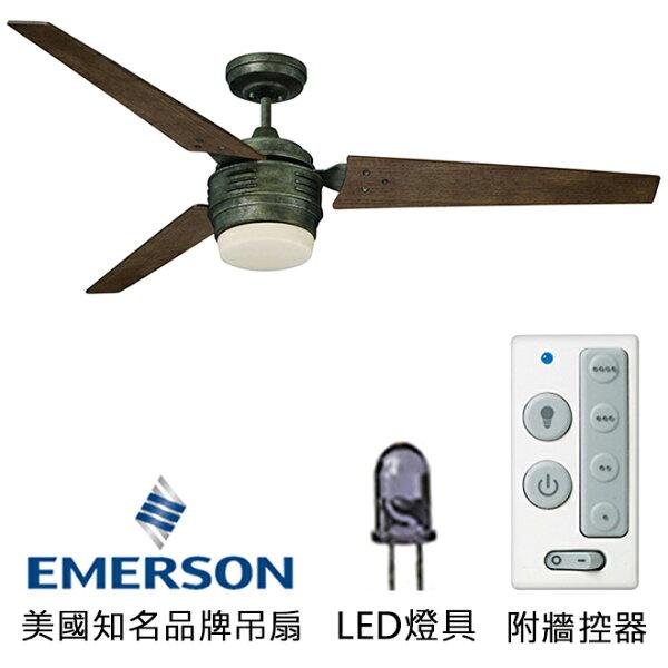 [topfan]Emerson4thAvenueLED60英吋吊扇附LED燈(CF766LVS)古鐵色(適用於110V電壓)