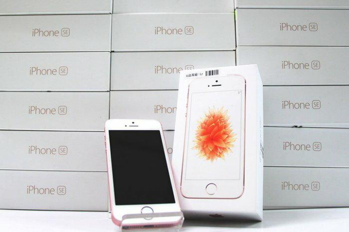 創宇通訊】iPhone SE 16G展示福利品(含耳機、福利充電組、玻璃貼(預貼以防破損)
