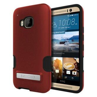 SEIDIO DILEX™ PRO 金屬支架保護殼 for HTC One M9 - 熱情紅