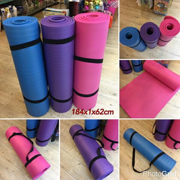 瑜珈墊10mm加厚加長環保瑜伽墊遊戲墊地墊爬行墊運動墊防滑墊✤朵拉伊露✤