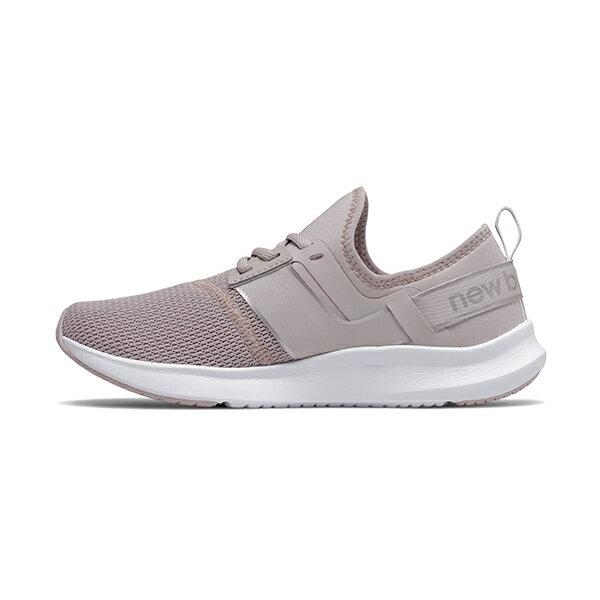 【NEW BALANCE】NB 多功能訓練鞋 慢跑鞋 寬楦 灰紫 女鞋 -WNRGSSL1D