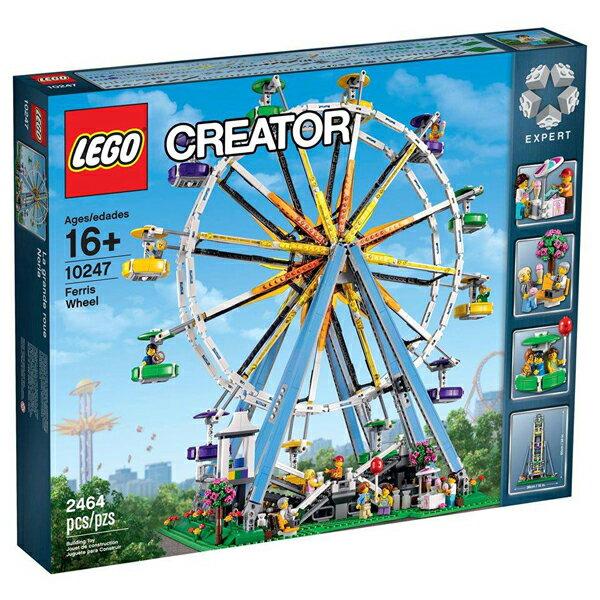 【LEGO 樂高積木】Creator 創意大師系列-摩天輪 LT-10247