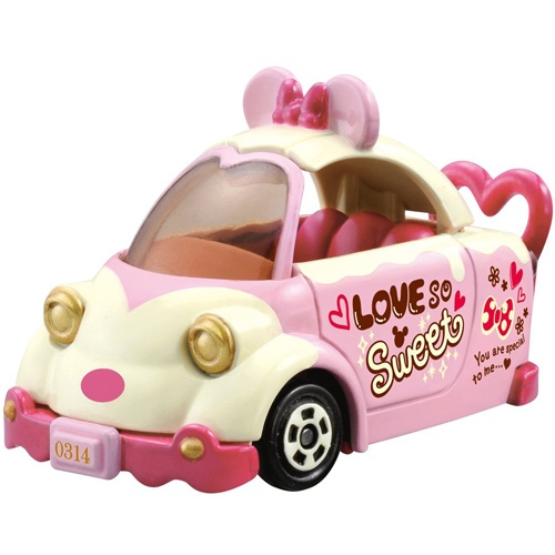 《TOMICA》夢幻小汽車 2015白色情人節米奇米妮