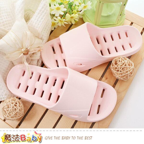 兒童浴室拖鞋排水快乾軟Q拖鞋魔法Baby~sd5053
