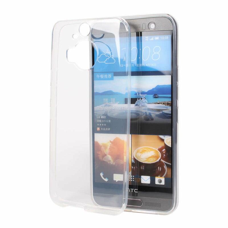 Ultimate-HTC ONE M9 / M9+ 清新全透軟質手機外殼防摔果凍後背蓋 保護套 軟殼 保護殼 手機殼