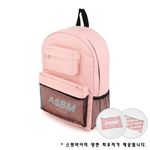 【獨家商品】韓國潮牌 STANd.BY.ME 152 多袋口後背包 書包 電腦包 1