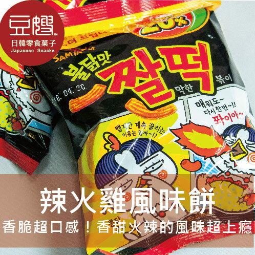 【豆嫂】韓國零食 火辣雞肉風味年糕餅乾