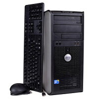 Dell OptiPlex 745 MT Core 2 Duo 8GB RAM 750GB HDD DVD-CDRW WiFi Windows 10 Pro 64bit with Keyboard and Mouse