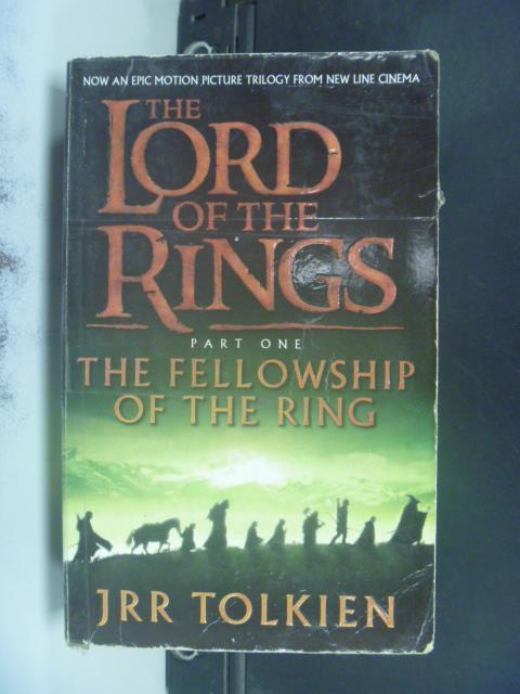 【書寶二手書T6/原文小說_OEA】THE LORD OF THE RINGS_JRR TOLKIEN