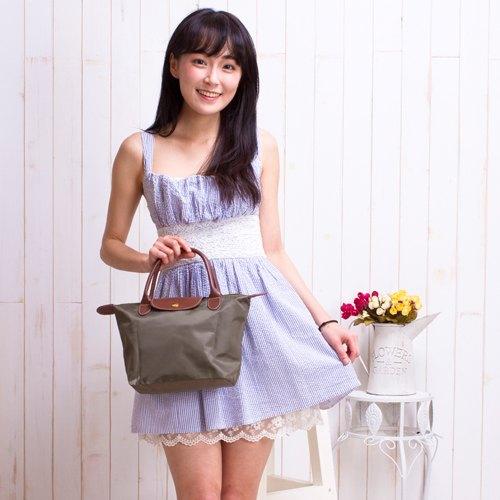 【現貨供應】手提包 輕量時尚防潑水尼龍手提包(小尺寸) 水餃包 托特包 便當袋