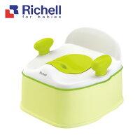日本【Richell 利其爾】Pottis椅子型3階段訓練便器 - 綠色 _好窩生活節 0