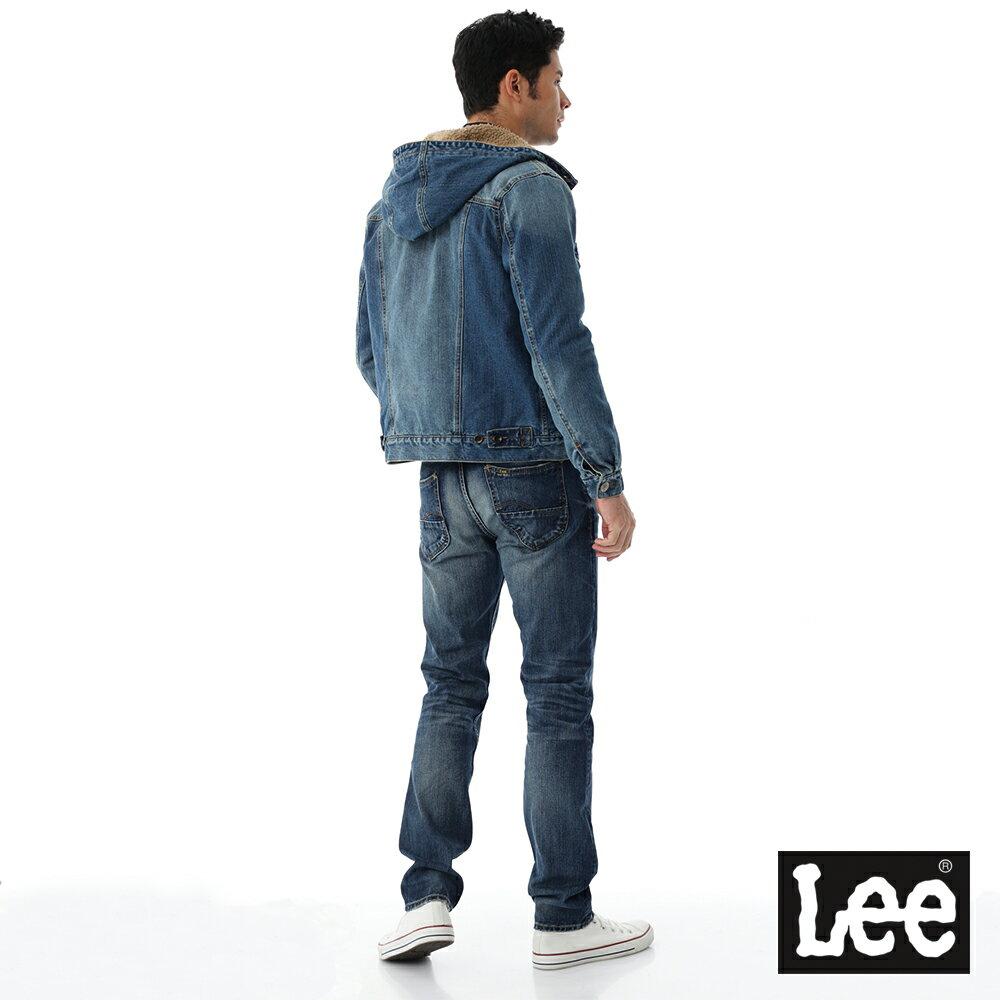 Lee 連帽牛仔外套 / 101+-男款-藍色 3