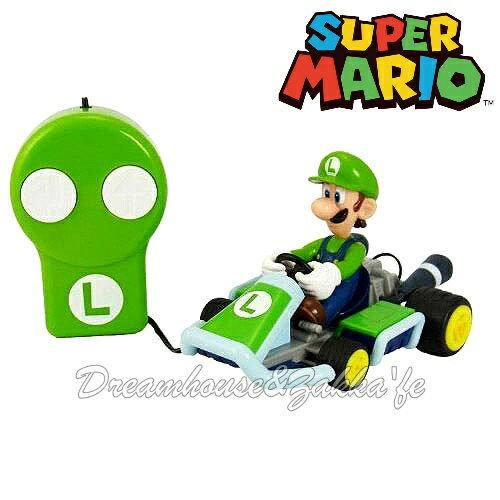 日本正版 任天堂 Mario 瑪莉歐/馬力歐 路易  遙控汽車/賽車玩具 ★ 超可愛 ★