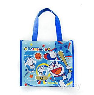 X射線 精緻禮品:X射線【C030888】哆啦A夢便當袋,書袋購物袋便當袋手提袋開學必備