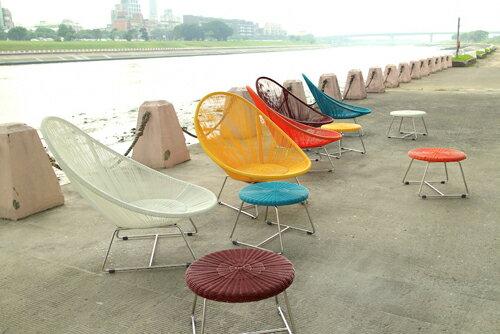 MARINA STOOL 小艇 邊几椅凳 戶外家具【7OCEANS七海休閒傢俱】共五色 0