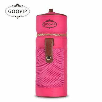 『121婦嬰用品館』GOOVIP USB充電系列-攜帶式恆溫保溫袋(桃紅)