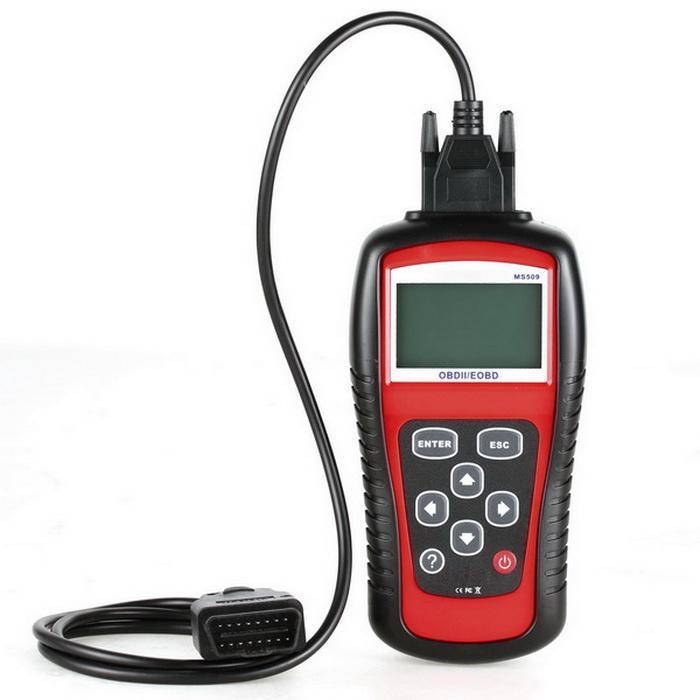 OBD2 OBDII EOBD Scanner Car Code Reader Data Tester Scan Diagnostic Tool 0