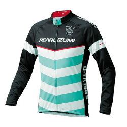 【7號公園自行車】PEARL iZUMi 3455-BL-44 15度男性冬季保暖長袖車衣(白/綠/黑)