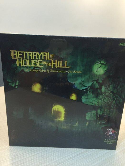 【桌遊侍】山中小屋Betrayal at House on the Hill 正版 實體店面快速出貨 《免運.再送充足牌套》任兩件再九折喔!!