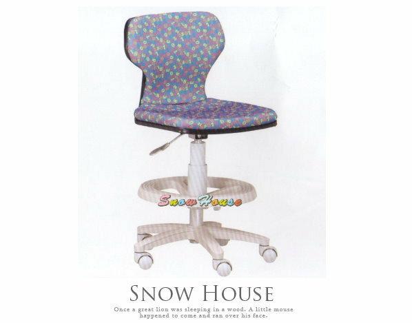 ╭☆雪之屋居家生活館☆╯A258-05 ST-02C多功能學童椅/兒童電腦椅/氣壓升降/PU壓力輪(藍色)