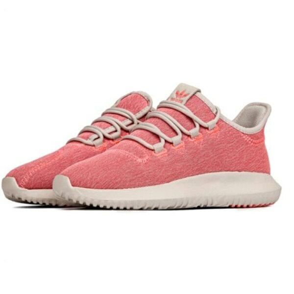 AdidasTubularShadowW女鞋慢跑休閒小350襪套潮流粉紅【運動世界】B22636