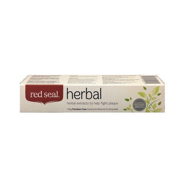 紐西蘭RedSeal草本防蛀固齒牙膏110g條◆德瑞健康家◆