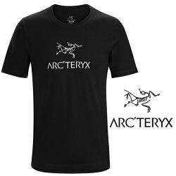 【Arc'teryx 始祖鳥】男 LOGO短袖T恤『黑』L07012300(吸濕 快乾 排汗衣 運動 單車 登山健行 跑步 三鐵 慢跑 排汗衫)