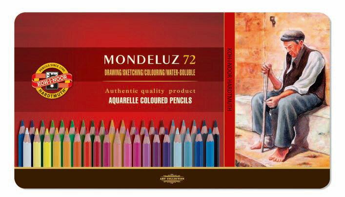 魔法森林捷克KOH-I-NOR72C 油性色鉛筆72色