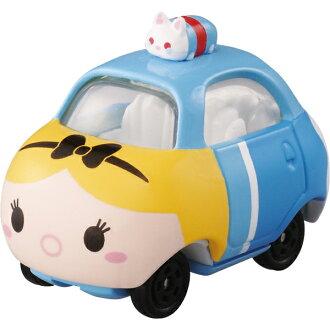 【真愛日本】16082000014TOMY小車-TSUM愛麗絲TOP   迪士尼 愛麗絲夢遊仙境 小車 擺飾 收藏 疊疊樂