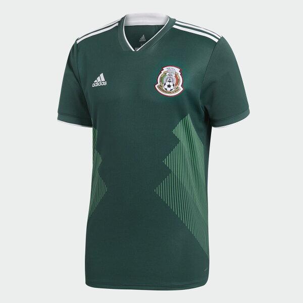 ADIDASMEXICOHOMEREPLICA男裝上衣短袖世足賽世界盃墨西哥綠【運動世界】BQ4701