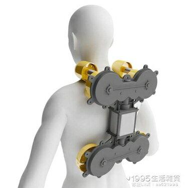 多功能肩頸按摩器背部腰部頸椎按摩器家用全身脖子揉捏車載辦公枕 1995生活雜貨NMS 聖誕節禮物